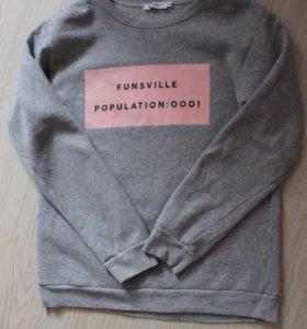 Серый свитшот Adolescent clothing Asos