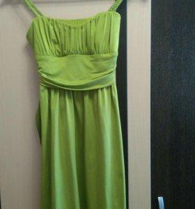 Платье XS👗 на бретельках