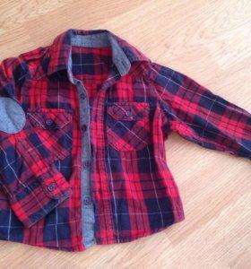 Рубашка стильная 6-9 мес