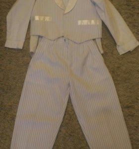 Костюм (рубашка, брюки, жилетка)