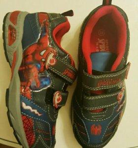 Кроссовки Spiderman (Человек Паук). Размер 32