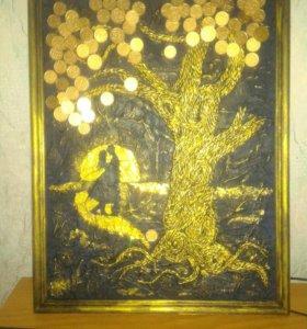 """Поно """"денежное дерево"""""""