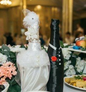 Свадебные бутылки 💖