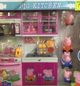 Кухня свинка пеппа
