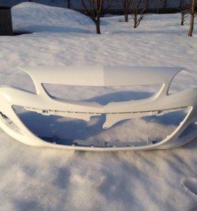 Бампер передний Opel Astra J рестайл в цвет
