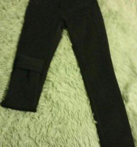 Новые утепленные джинсы. Одеты 1 раз
