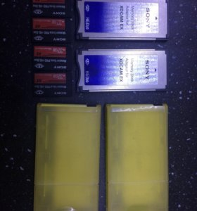 MemoryStick адаптеры и карты для камер Sony XDCam