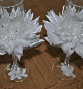 Бокалы к свадьбе