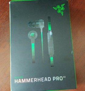 Razer Hammerhead pro v2 ОРИГИНАЛ наушники