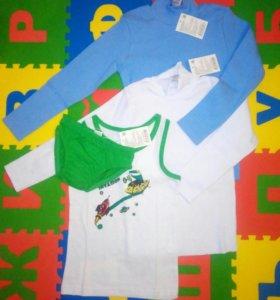 Комплект новой одежды для мальчика р.104-110