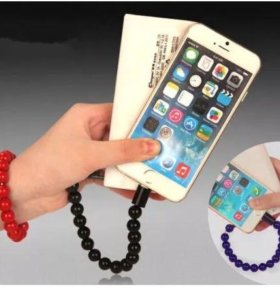 Браслет кабель Micro USB для iPhone