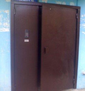 Железные двери и ворота