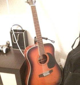 Акустическая гитара 12-струнная