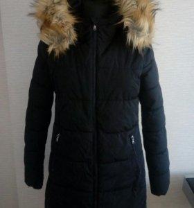 Теплая куртка-пальто