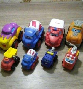 Машинки резиновые TONKA