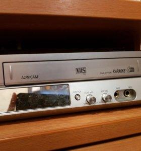 Дивиди касетный и дисковый.
