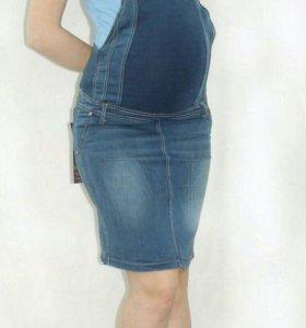 Сарафан джинсовый новый для беременных