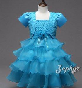 Праздничное детское платья