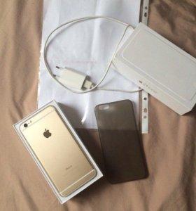 iPhone 6 plus 16G цвет gold