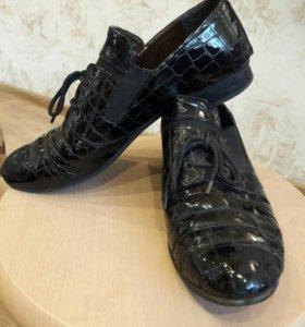 Ботинки лакированные Milano, 37 размер
