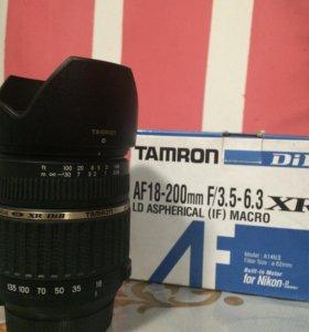 Tamron 18-200mm f/3.5-6.3 XR DI ii ld asp Nikon F