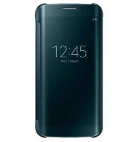 Чехол для Galaxy S6 Edge Plus с прозрачной крышкой
