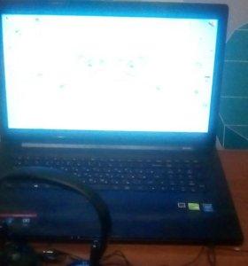Игровой ноутбук. Леново G70