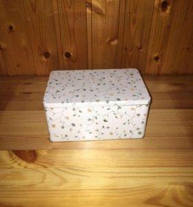 Новые металлические коробочки