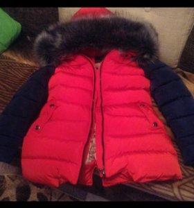 Пуховик ,куртка зима