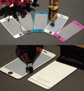 iPhone 5,5S, 6 стёкла защитные