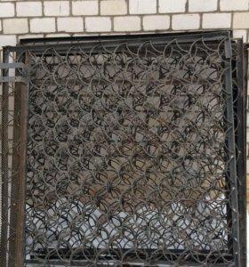 Забор Решетка  2*1 м, 2*2 м, 2*4м