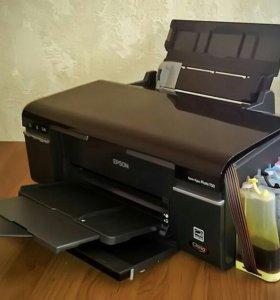 Струйный принтер Epson T50 с СНПЧ
