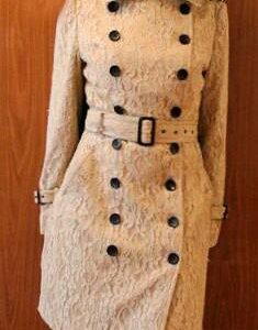 Кружевной тренч пальто Barberry