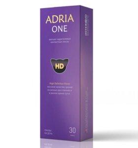 Контактные линзы Adria one диоптрия -3