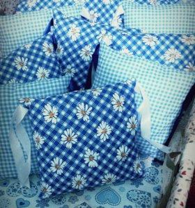 Бортики в кроватку на заказ