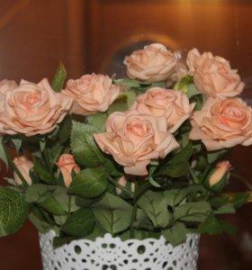 Латексные цветы-декоративные цветы