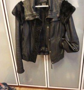 Куртка кожанная. Италия