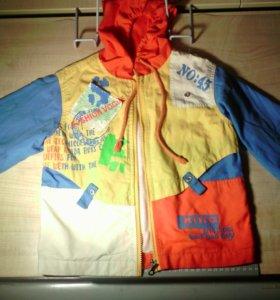 Детская тонкая куртка