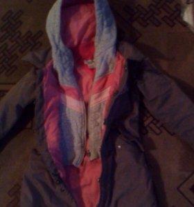 Куртка детская! Для девочки!