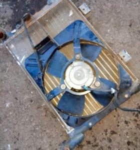 Радиатор и вентилятор ваз 2107