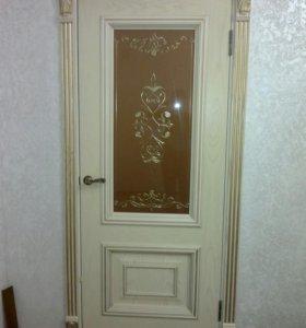 Установка межкомнатных дверей замки петли доборы