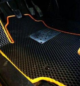 Эксклюзивные автомобильные коврики EVA любого цвет