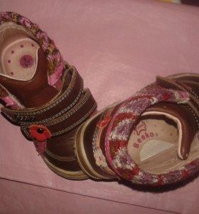 Ботиночки на девочку, 24 размер