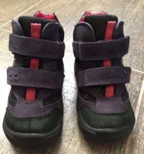 Ботинки Ecco Gore-Tex 23р идеальные на сейчас