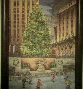 Рождество на Таймс-сквер