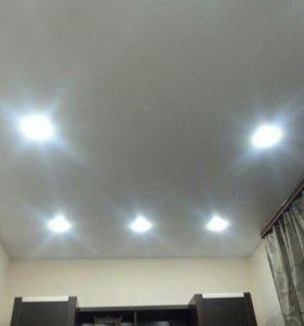 Натяжные Эконом-потолки