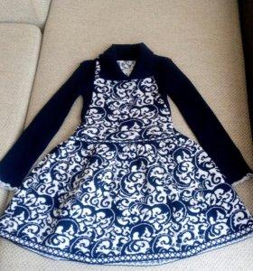 Платья вязанные(новые)