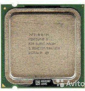 Intel d345 2,8 ггц