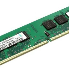 Оперативная память на 512 Мб и 1024 Мб ddr2 dimm