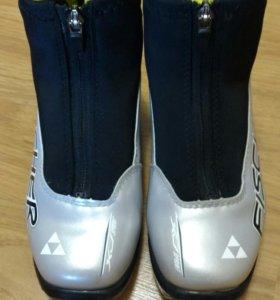 "Ботинки лыжные ""FISCHER"" 35 размер."